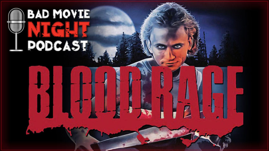 Blood Rage (1987) Podcast Movie Review