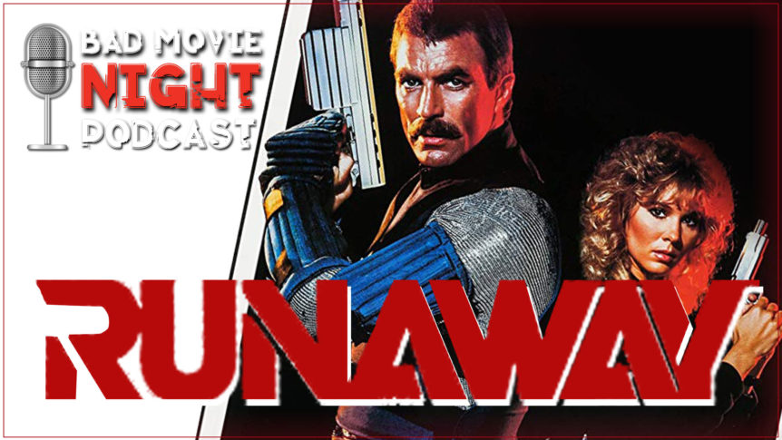RunAway (1984) Podcast Movie Review